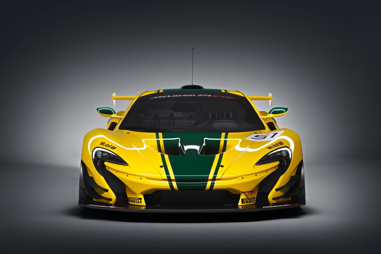 McLaren P1 GTR-ด้านหน้า