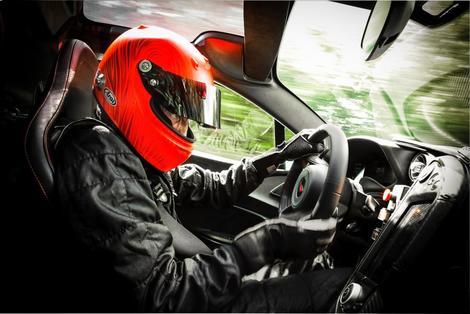 McLaren P1 GTR-ห้องโดยสาร