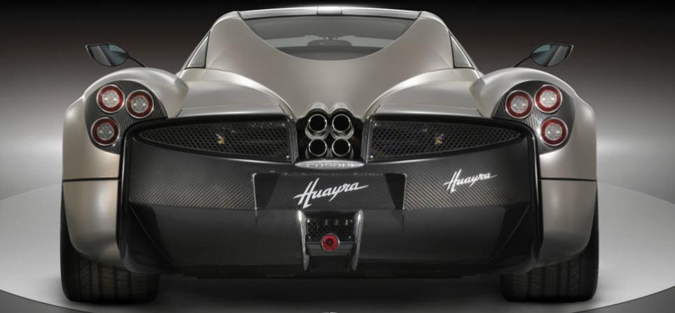Pagani Huayra-ด้านหลัง