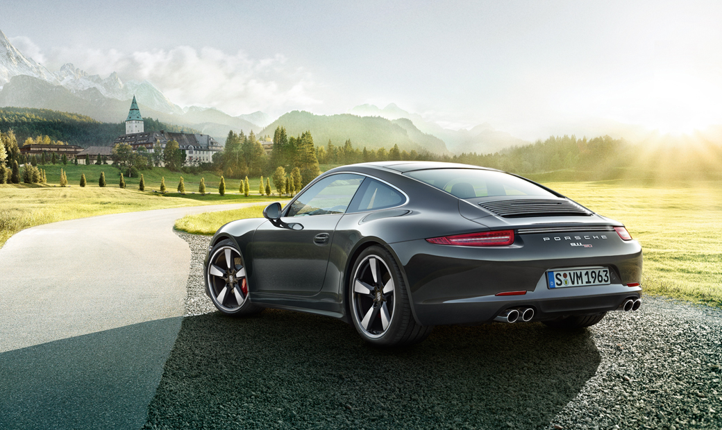Porsche 911 50th Anniversary Edition-งดงาม