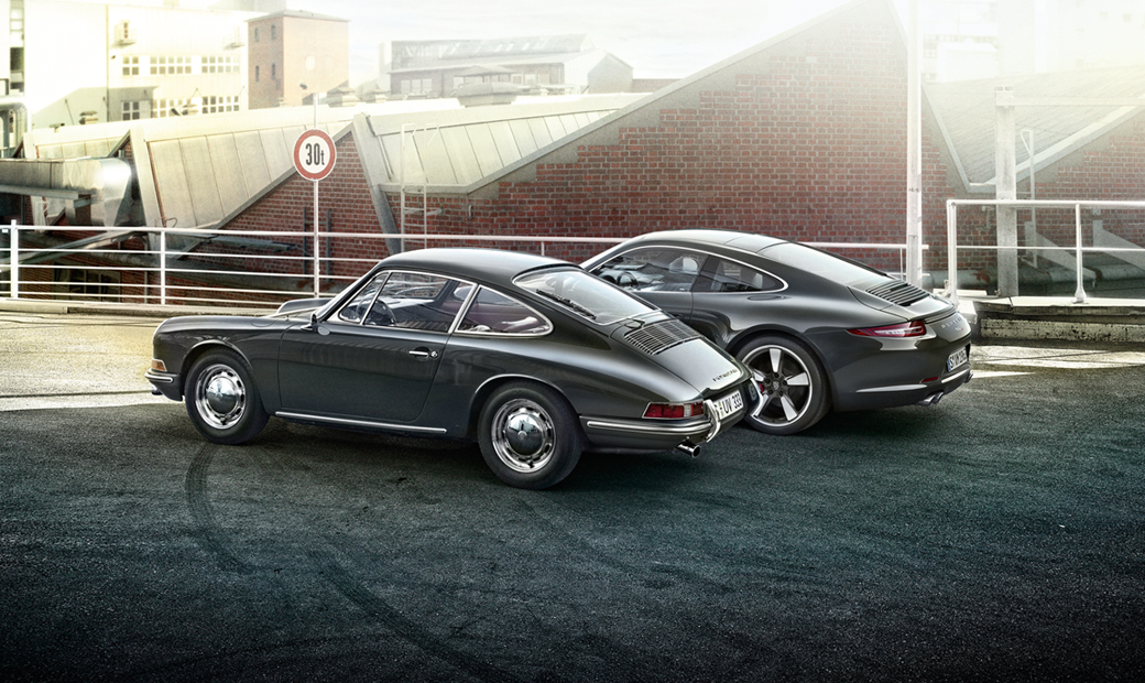 Porsche 911 50th Anniversary Edition-เก่าใหม่