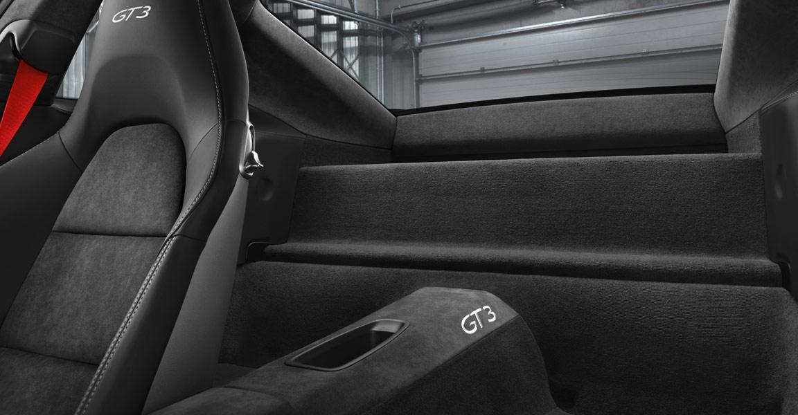 Porsche 911 GT3-ภายใน