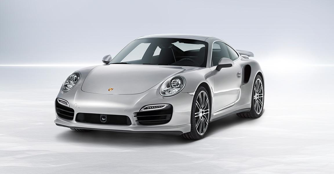 Porsche 911 Turbo-ด้านหน้า