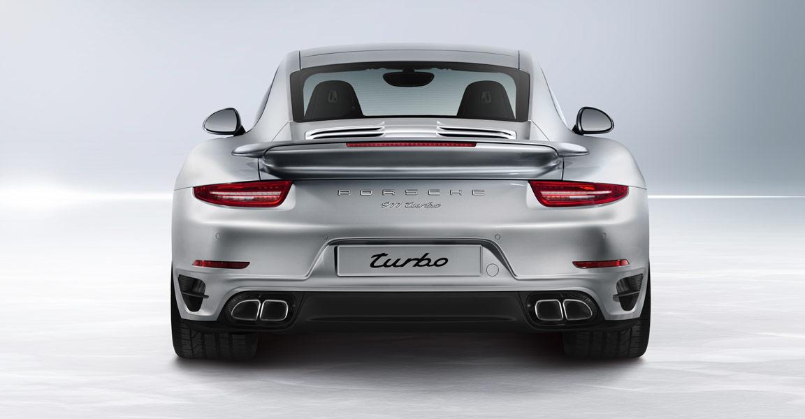 Porsche 911 Turbo-ด้านหลังงามๆ