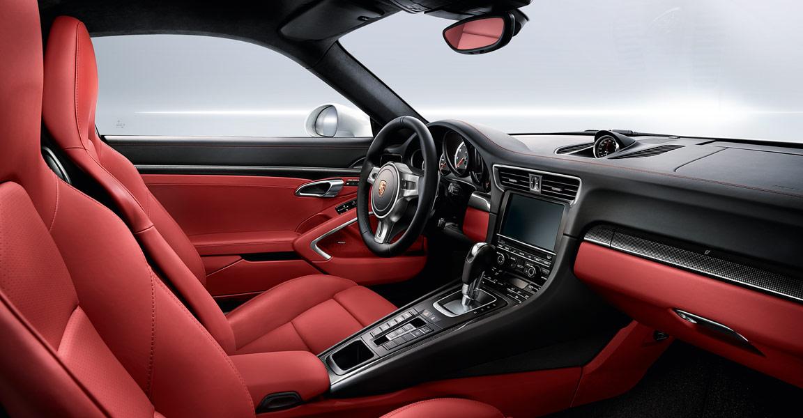 Porsche 911 Turbo-ห้องโดยสารภายใน