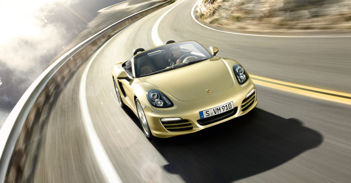 Porsche Boxster-ด้านหน้าดุดัน