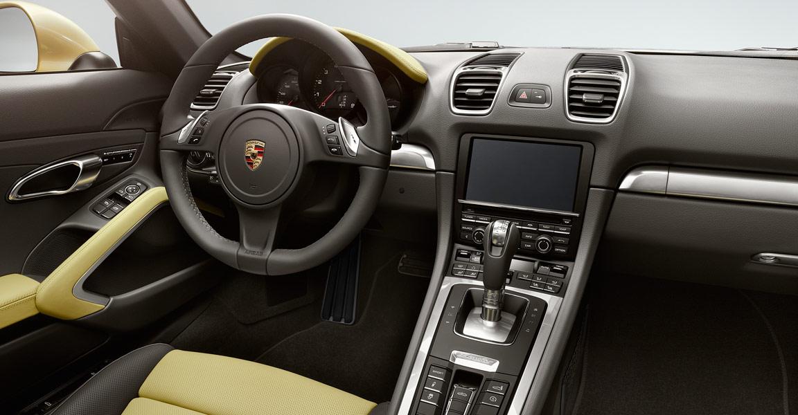 Porsche Boxster-เเผงคอนโซล