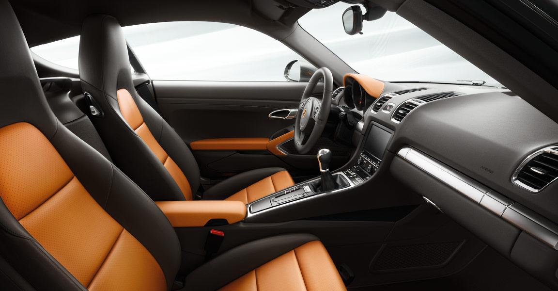 Porsche Cayman -ห้องโดยสารภายใน