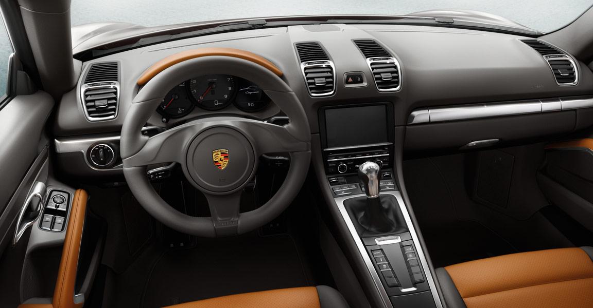 Porsche Cayman -เเผงคอนโซล