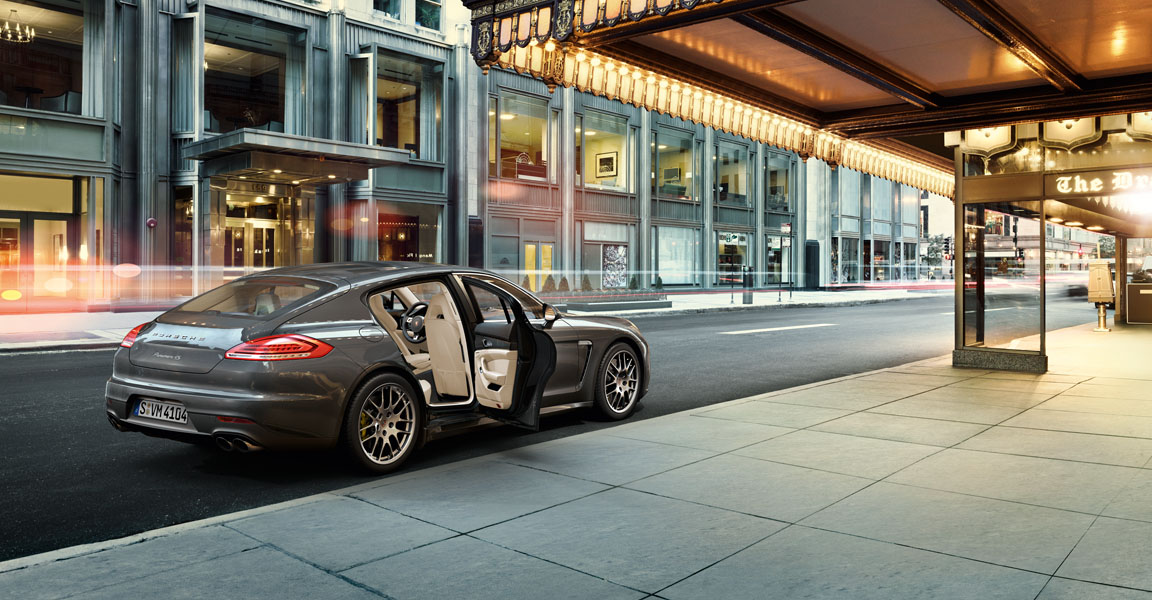 Porsche Panamera-ความหรูหรา
