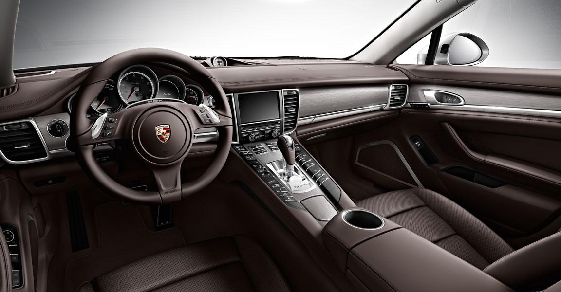 Porsche Panamera  4-เเผงคอนโซล