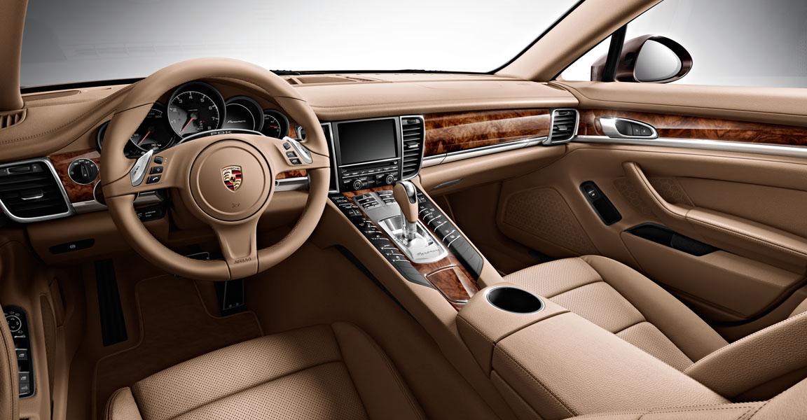 Porsche Panamera  4S-เเผงคอนโซล