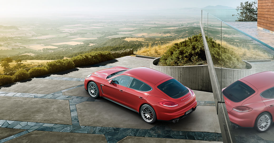 Porsche Panamera  GTS -สวย
