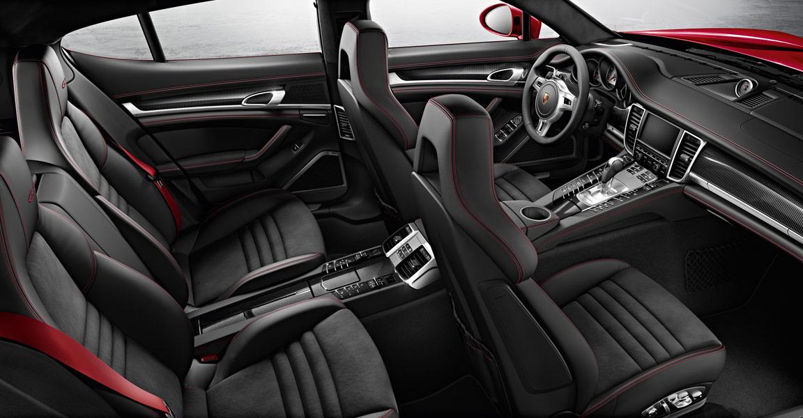 Porsche Panamera  GTS -ห้องโดยสาร