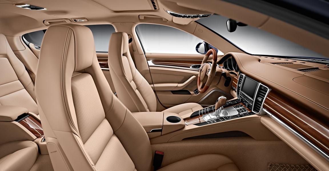 Porsche Panamera  S-ห้องโดยสารภายใน