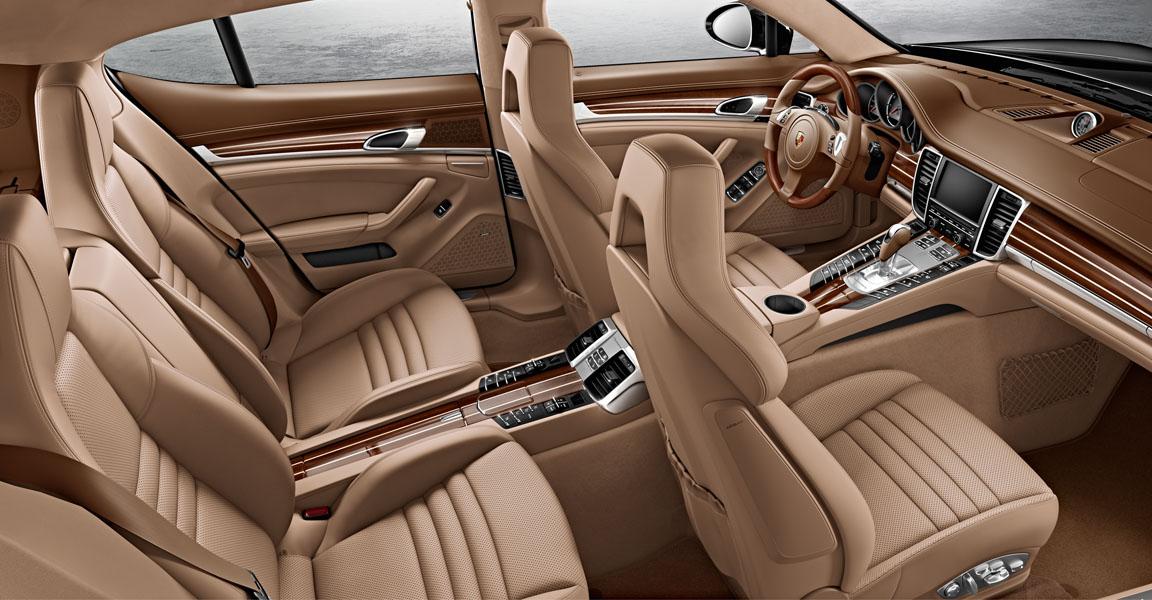Porsche Panamera  S-เบาะนั่งสวยๆ